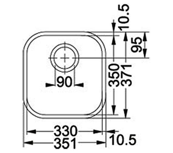 Technical drawing QS-V34334 / 1220154919
