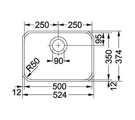 Technical drawing QS-V34339 / 1220181453