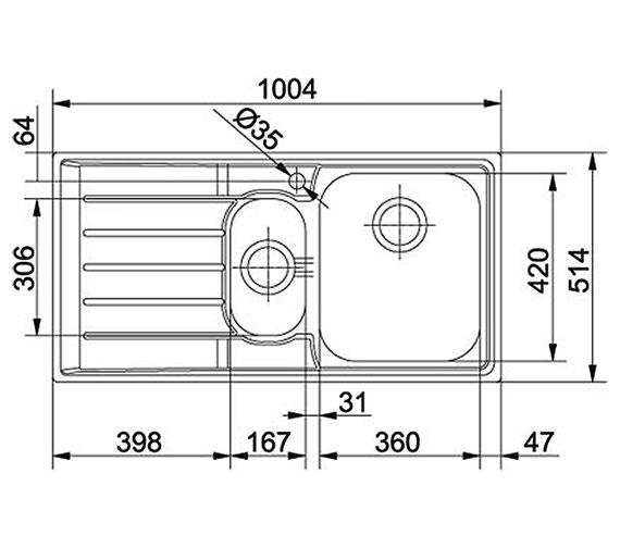 Technical drawing QS-V34353 / 1270059717