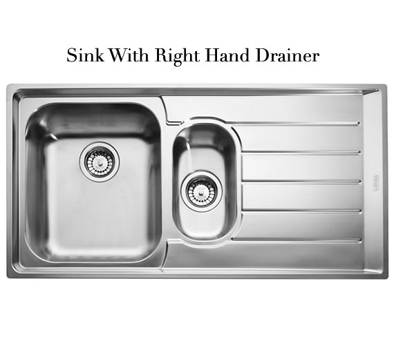 ... of Franke Neptune NEX 251 Stainless Steel 1.5 Bowl Kitchen Inset Sink
