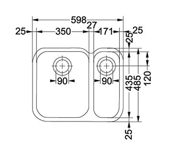 Technical drawing QS-V34345 / 1220154950