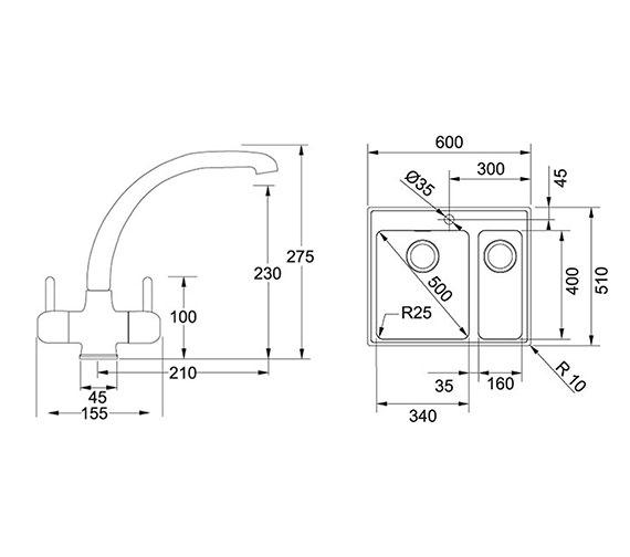 Technical drawing QS-V34347 / 1010364680