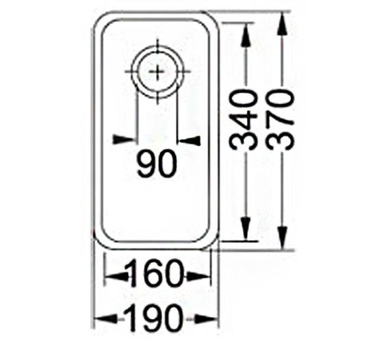 Technical drawing QS-V34355 / 1120043864