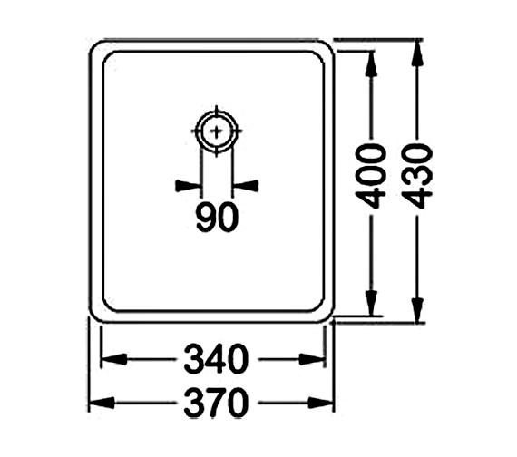 Technical drawing QS-V34356 / 1220036607
