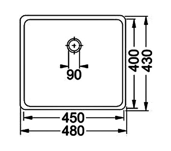 Technical drawing QS-V34357 / 1220036608