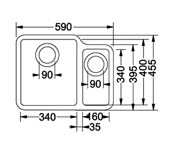 Technical drawing QS-V34359 / 1220033122
