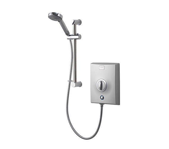 Aqualisa Quartz 8.5 KW Electric Shower Chrome - QZE8501