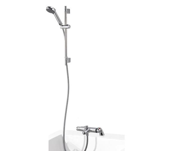 Aqualisa Midas 100 Thermostatic Bath Shower Mixer With Kit