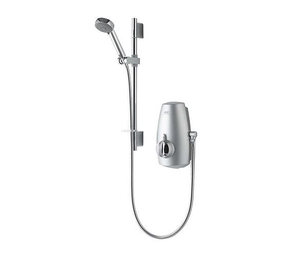 Aqualisa Aquastream Thermostatic Power Shower Satin Chrome