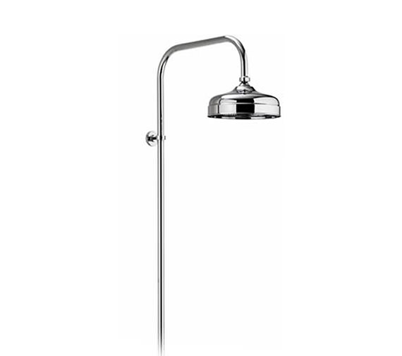 Aquatique Exposed Fixed Height Shower Drencher Head Chrome - 581.01