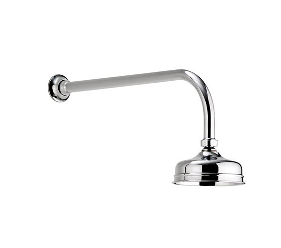 Aquatique Concealed Fixed Height Shower Drencher Head Chrome - 550.01