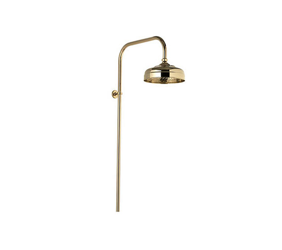 Aquatique Fixed Height Exposed Shower Drencher Head Gold - 551.04