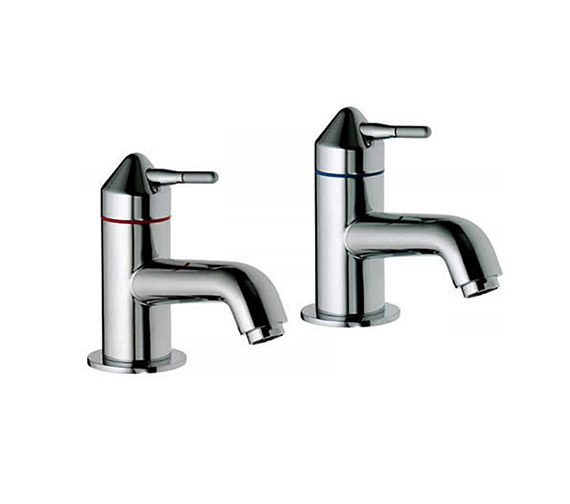 Aqualisa Axis Basin Taps Chrome - AX0211 Image
