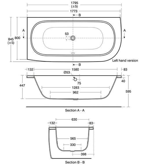 Technical drawing QS-V34493 / E635101