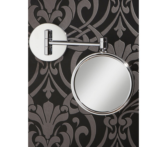 HIB Rico Circular Magnifying Bathroom Mirror - 24300