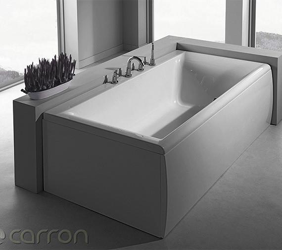 Additional image of Carron Haiku Double Ended Acrylic Bath 1700 x 800mm - CABHA17580PA