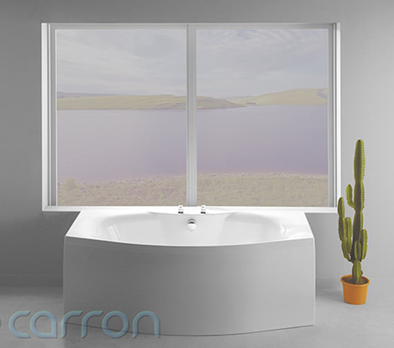 Additional image of Carron Mistral Double Ended Bath 1800 x 900mm - CABMI18570PA