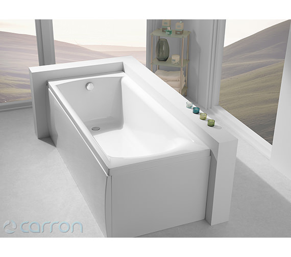 Additional image of Carron Sigma Single Ended Bath 1800 x 800mm - CABSI18580PA