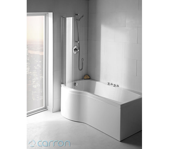 Additional image of Carron Sigma Right Hand Shower Bath 1800 x 900mm