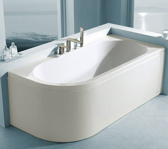 Additional image of Carron Status Offset Corner Right Hand Bath 1700 x 800mm