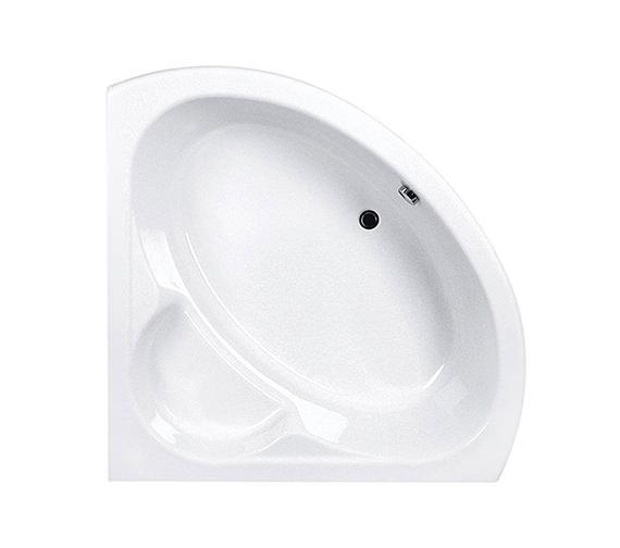 Carron monarch corner bath 1300 x 1300mm cacmo135pa q4 for Small baths 1300