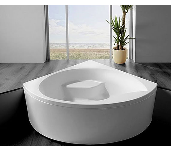 Additional image of Carron Tranquility Corner Bath 1300 x 1300mm - CACTR135PA
