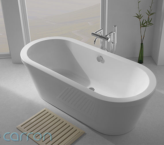 Additional image of Carron Halcyon Oval Freestanding Bath 1750 x 800mm - CABHLFS17580PACN