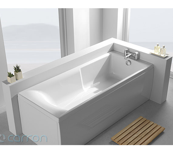 Carron Matrix 5mm Acrylic Single Ended Bath 1500 x 700mm