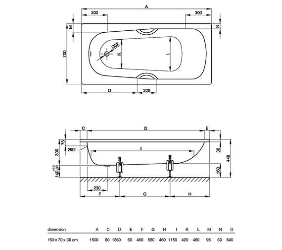 Technical drawing QS-V34605 / 1520 000