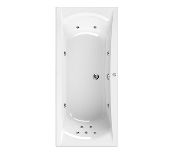 Aquaestil Arena 1700 x 750mm 11 Jets Whirlpool Bath