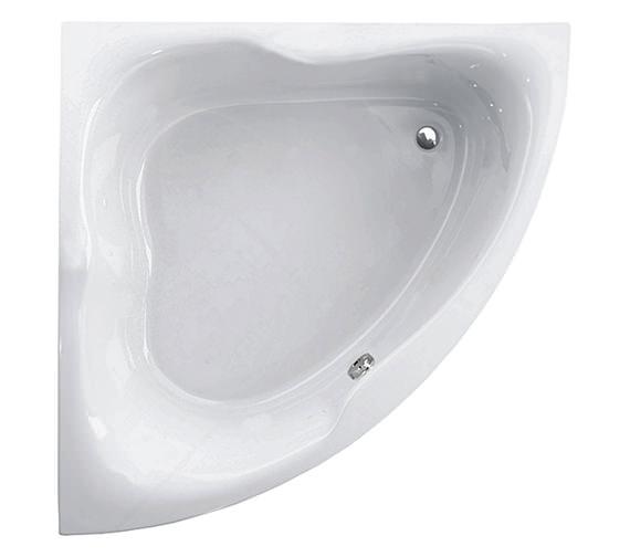 Aquaestil Gloria White 1500 x 1500mm Corner Bath - 154GLORIA15