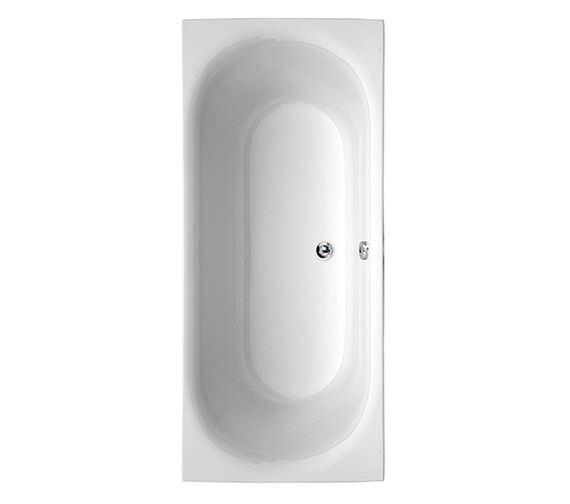 Aquaestil Metauro 3 Double Ended Bath 1800 x 800mm - 154METAURO31880