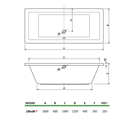 Technical drawing QS-V34704 / 154PLANE1880