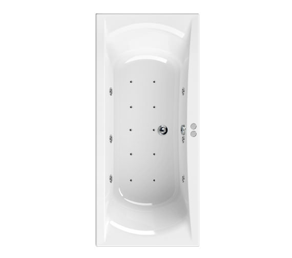 Aquaestil Arena 1900 x 900mm 16 Jets Whirlpool Bath