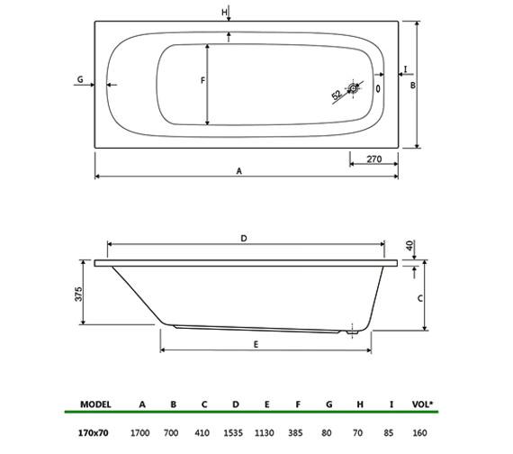 Technical drawing QS-V34742 / 200MERCURY1770CWS08