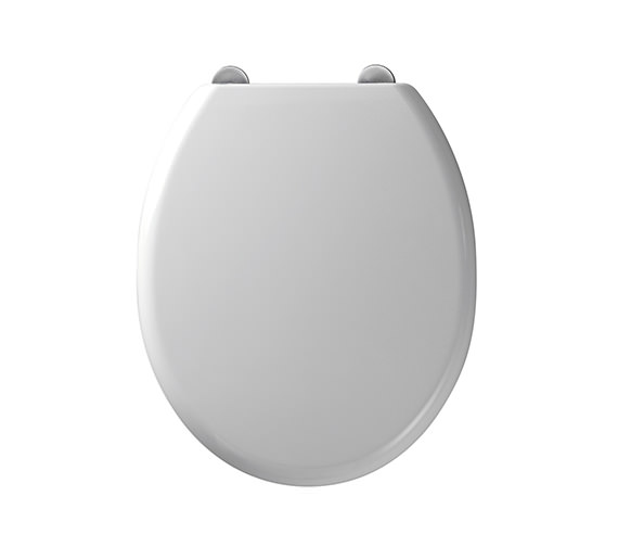 Roper Rhodes Curve Thermoset Plastic Toilet Seat - 8402WSC - 8402WS