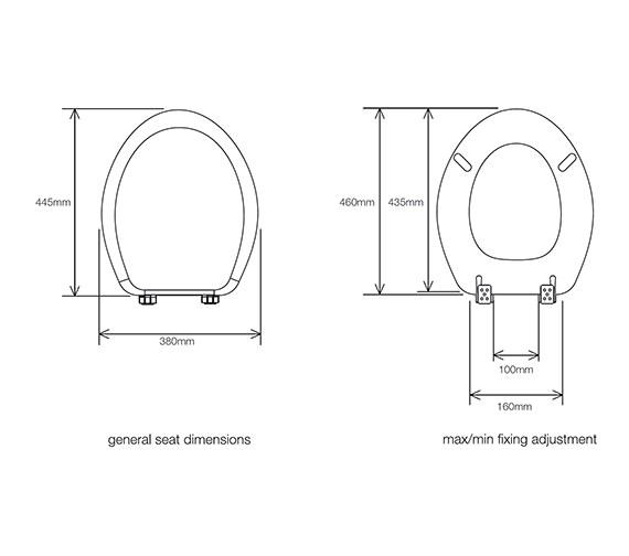Technical drawing QS-V34865 / 8402WS