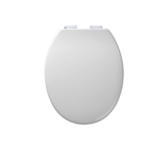 Additional image of Roper Rhodes Curve Thermoset Plastic Toilet Seat - 8402WSC - 8402WS