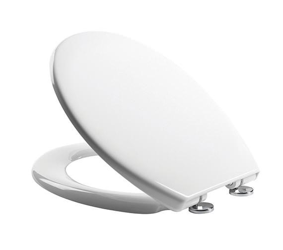 Roper Rhodes Neutron Thermoset Plastic Quick Release Toilet Seat White