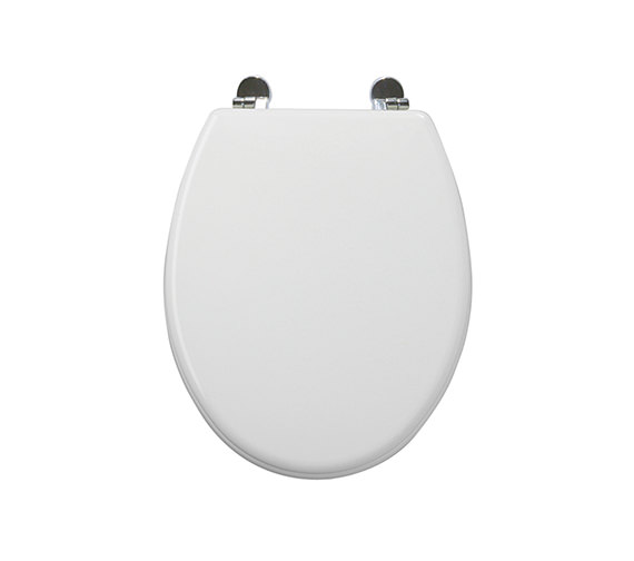 Roper Rhodes Essence High Gloss Moulded MDF Toilet Seat -8400WH