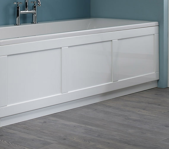 Roper Rhodes 800 Series White Front Bath Panel 1700mm - BP800W