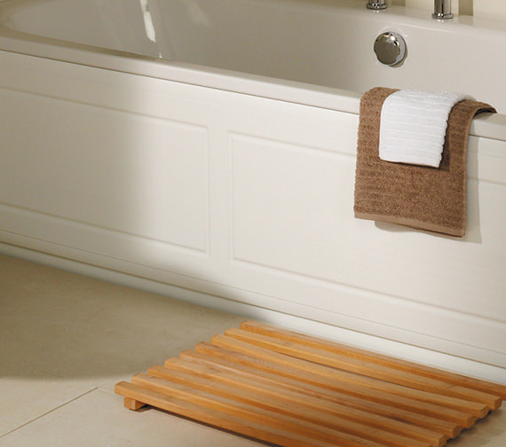 Roper Rhodes Valencia White Front Bath Panel 1700mm - BP600W