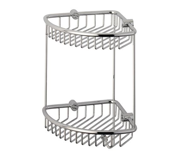Roper Rhodes Sigma Double Corner Basket 235mm Wide - CB50.02