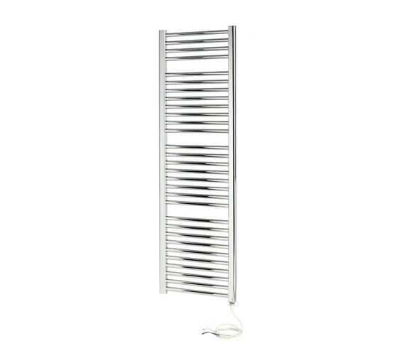 Apollo Napoli Straight Sealed Electric Towel Rail Chrome 500 x 800mm