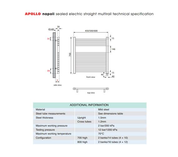 Technical drawing QS-V35279 / EASC4.5W700