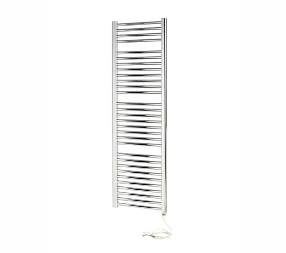 Apollo Napoli 450 Width Straight Sealed Electric Towel Rail White - More Height Sizes Available
