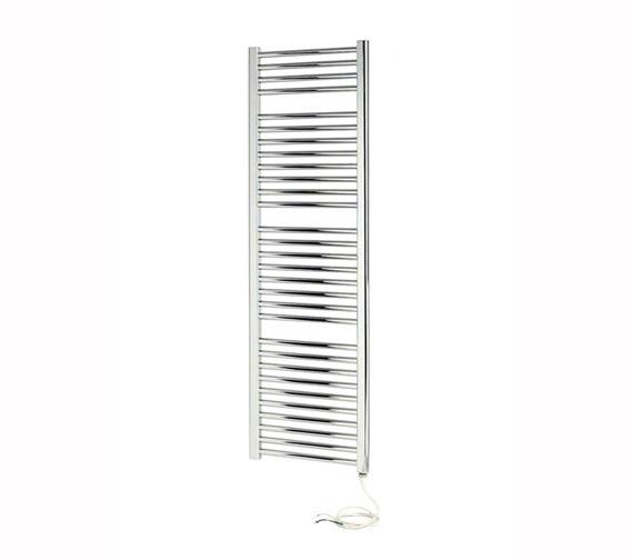Apollo Napoli Straight Sealed Electric Towel Rail White 450 x 700mm