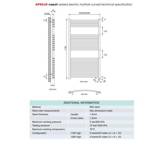 Technical drawing QS-V35304 / EACC4.5W1100