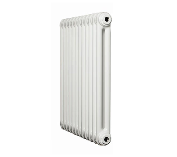 Apollo Roma White 2 Column Radiator 8 Section 750 x 400mm - 2C75H400