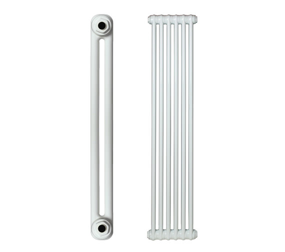 Apollo Roma Vertical Steel 2 Column Radiator 400 x 1500mm - 2C15H400